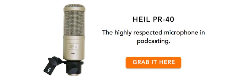 Heil PR-40 microphone