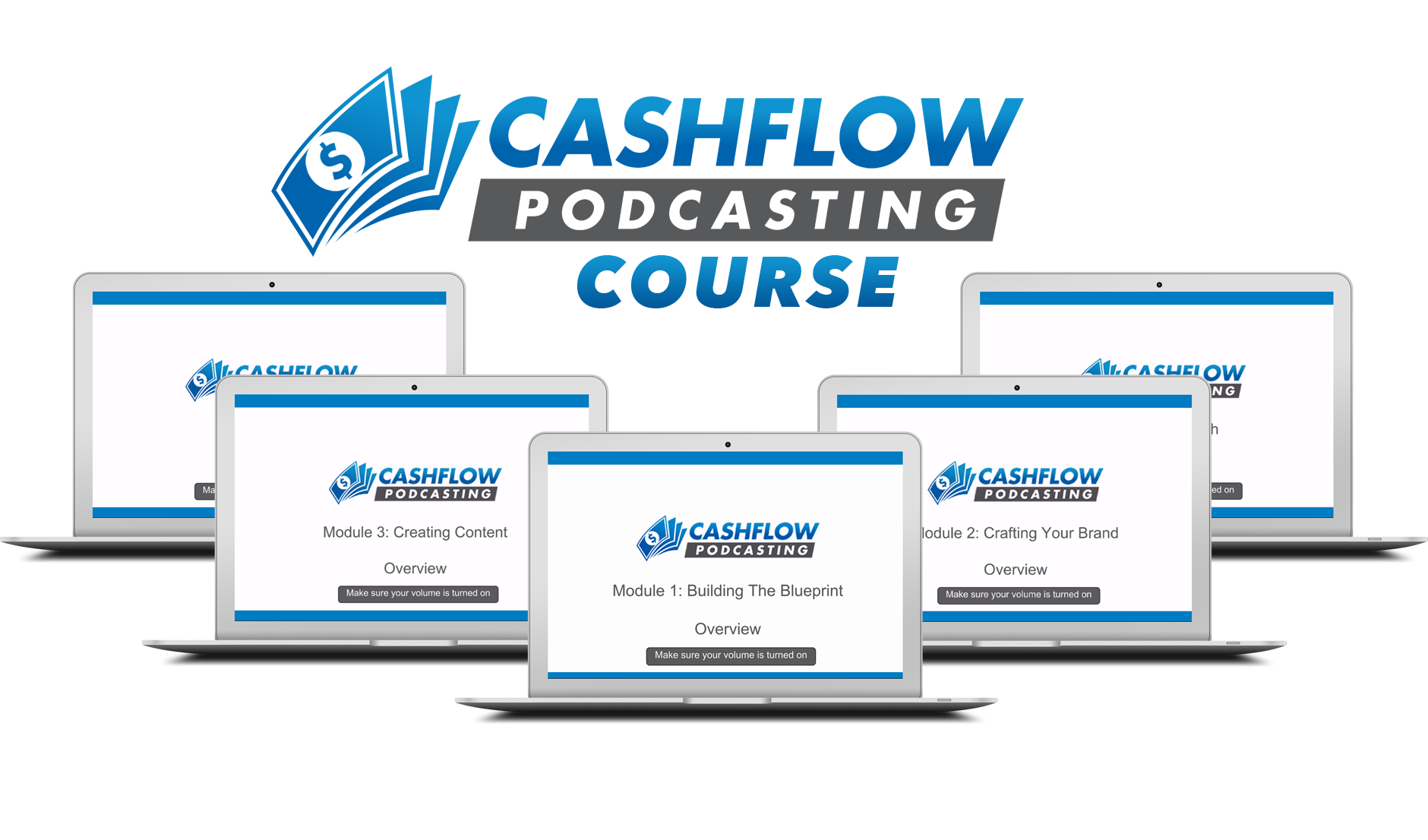 The Cashflow Podcasting Course