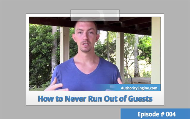 AETV 004: How to Never Run Out of Podcast Guests