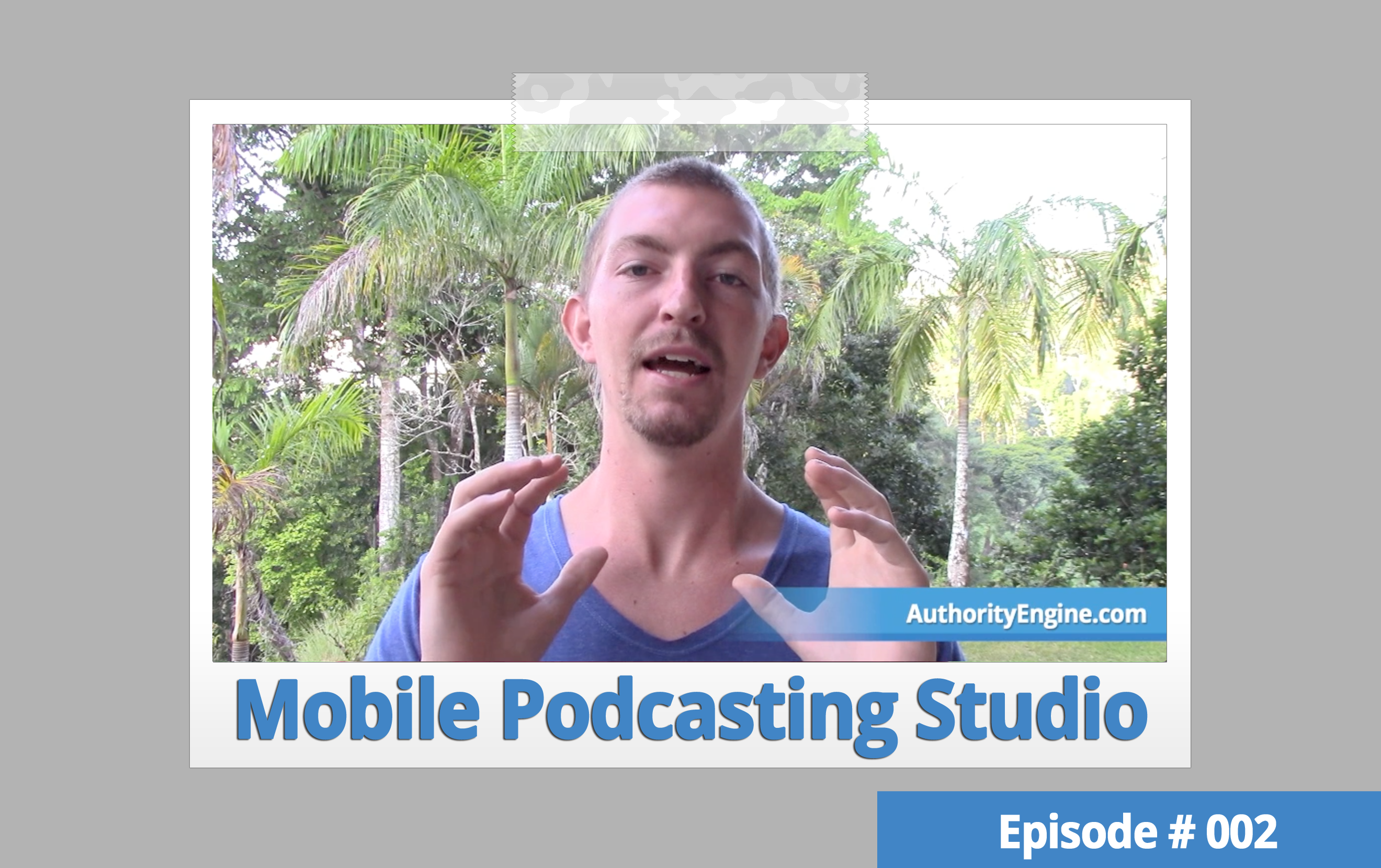 AETV 002: Your Mobile Podcasting Studio