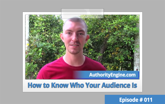 AETV 011: How to Know Who Your Audience Is