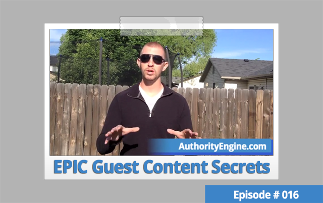 AETV16: How to Conduct Pre-Interviews To Get EPIC Guest Content