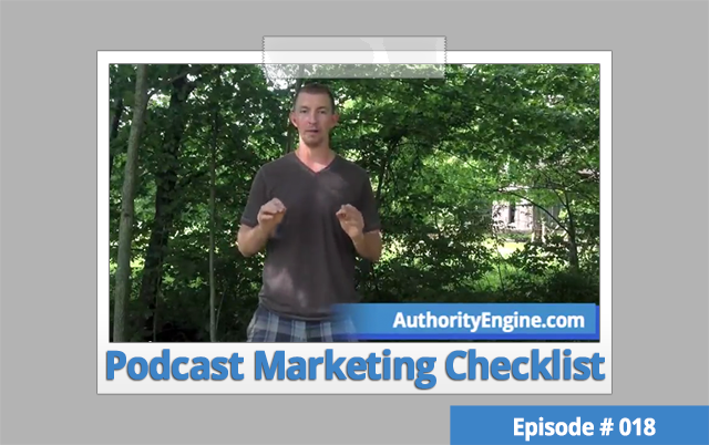 AETV018: The Podcast Marketing Checklist for Every Episode