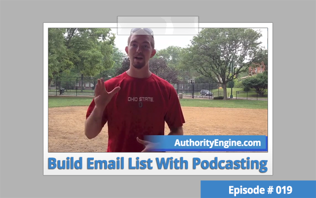 AETV019: Build Email List With Your Podcast