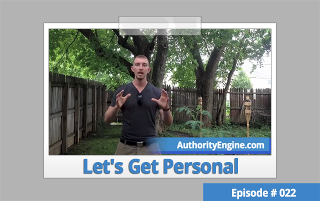 AETV022: Let's Get Personal