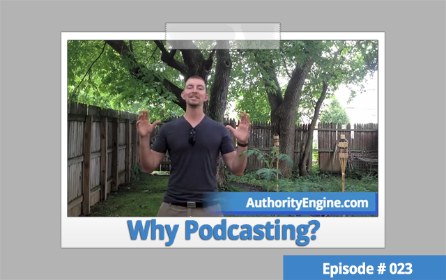 AETV023: Podcasting: Is it The Perfect Content Marketing For Your Biz?