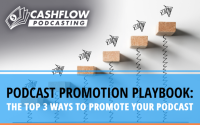 Podcast Promotion Playbook: The Top 3 Ways to Promote Your Podcast