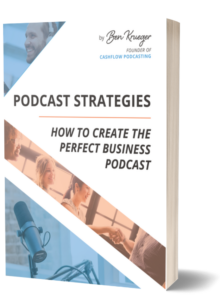Podcast strategies book